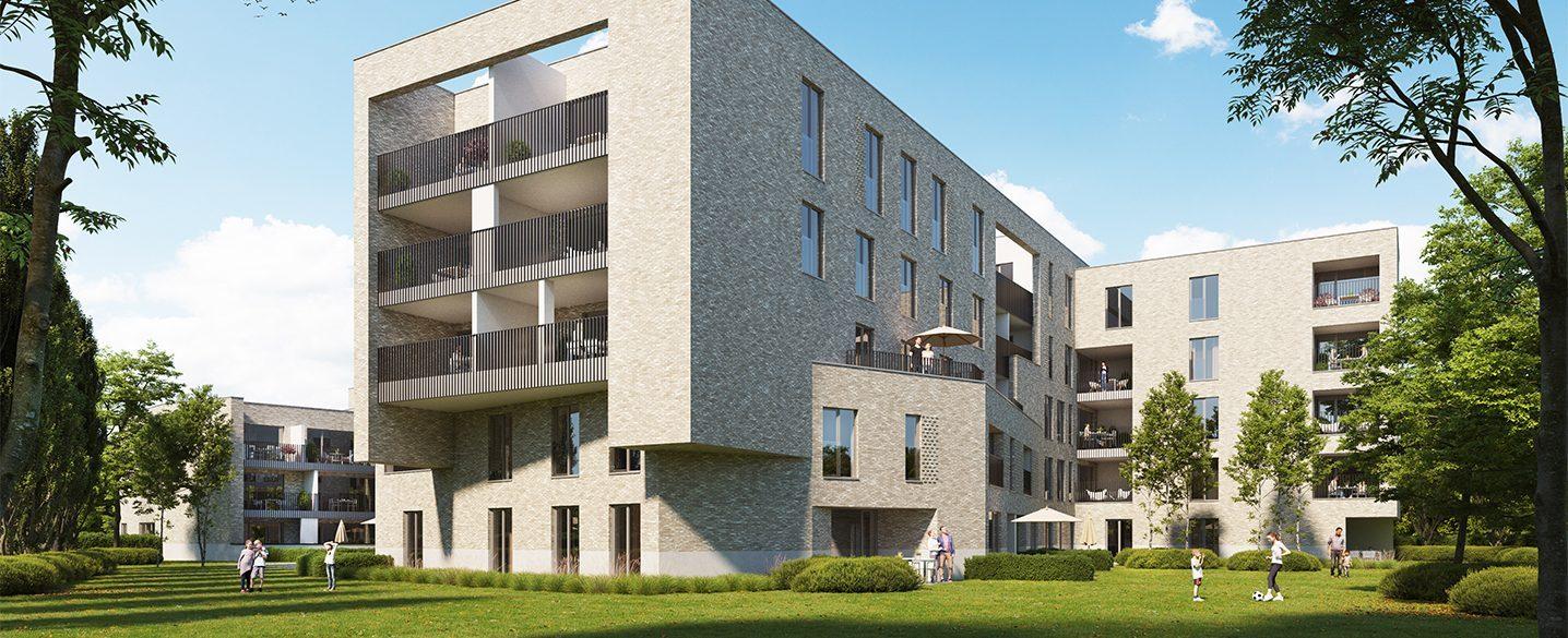Nieuwbouw appartementen Lier Olivia groen wonen