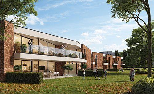 Nieuwbouw appartementen Hasselt Kuringen jack nieuwbouwwoning