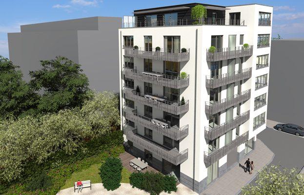 Nieuwbouw appartementen Jette Riviera project te koop