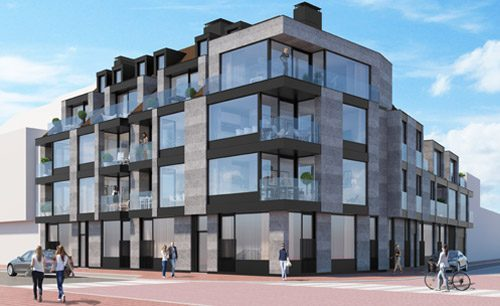 knokke te koop appartement nieuwbouw