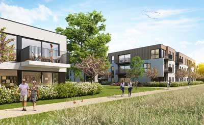 nieuwbouwproject maldegem centrum assistentiewonigen appartementen tekoop