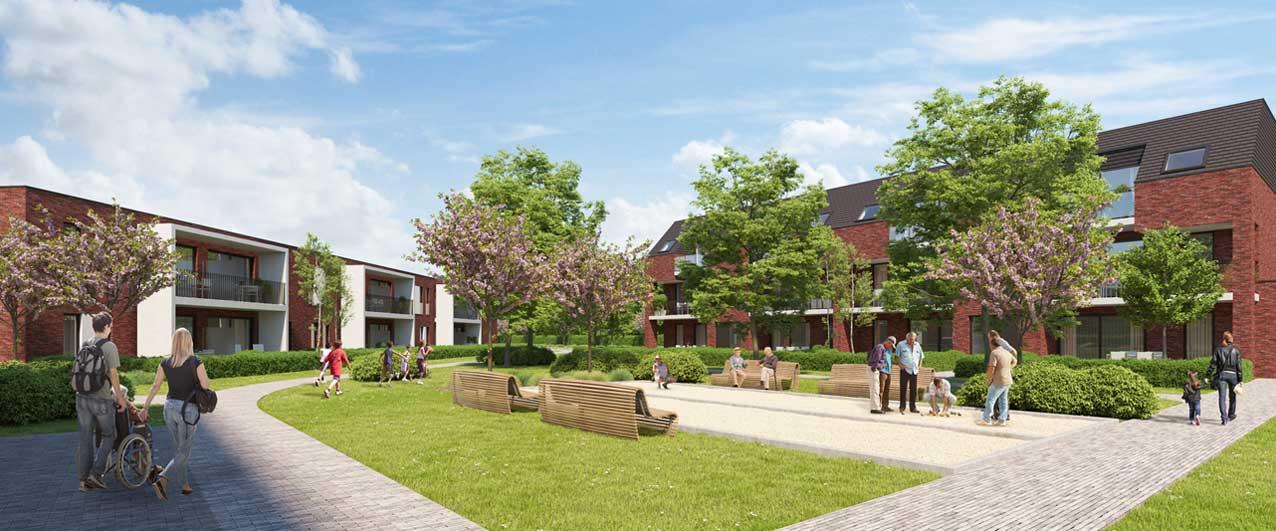 Update van nieuwbouwproject in Borotmeerbeek