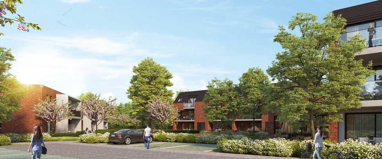 nieuwbouwproject Boortse Boortmeerbeek lichtrijke ruimtes