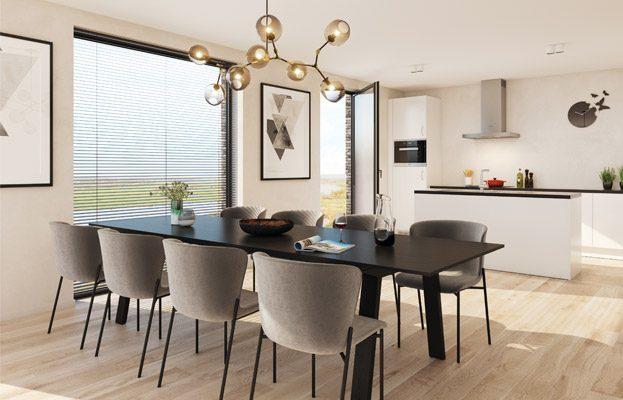 Nieuwbouw appartementen Stasegem Waterleau comfortabel wonen aan het water