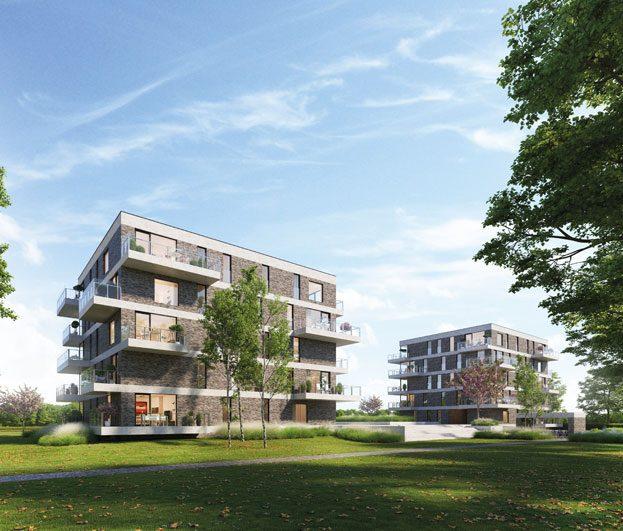 Nieuwbouw appartement te koop in het centrum van Stasegem