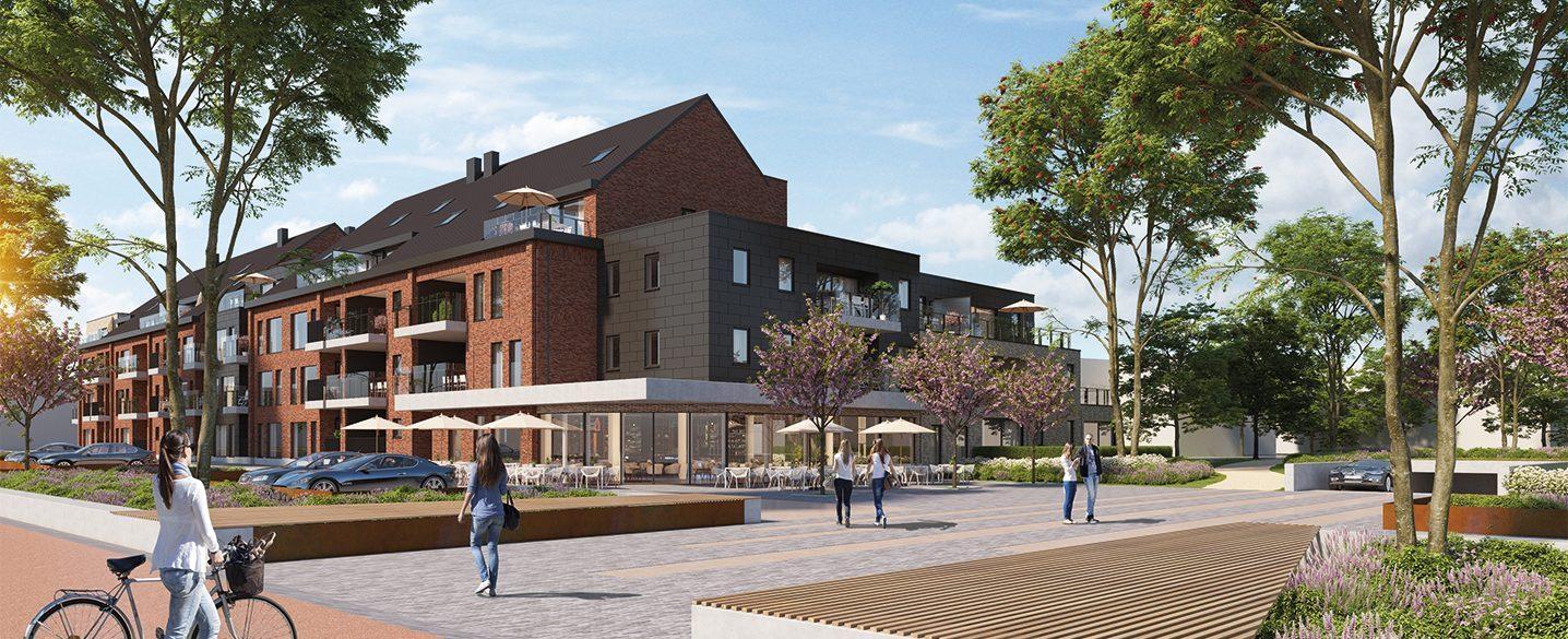 Nieuwbouw appartementen Borgloon Siroop investeringsvastgoed kopen