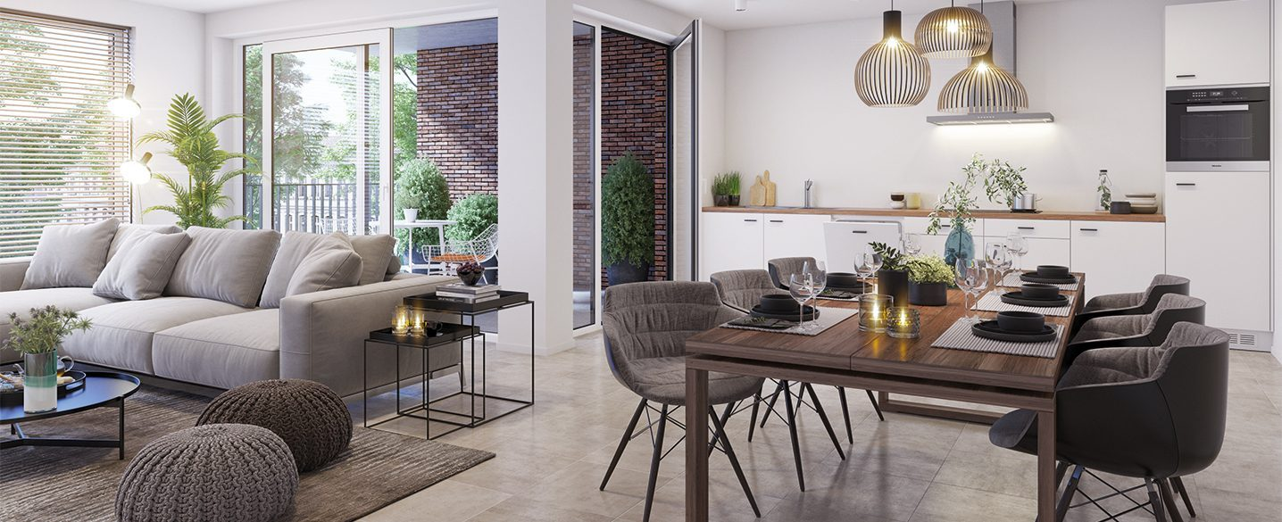 Nieuwbouw appartementen Borgloon Siroop nieuwbouwappartement kopen