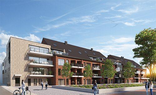 Nieuwbouw appartementen Borgloon Siroop nieuwe wijk