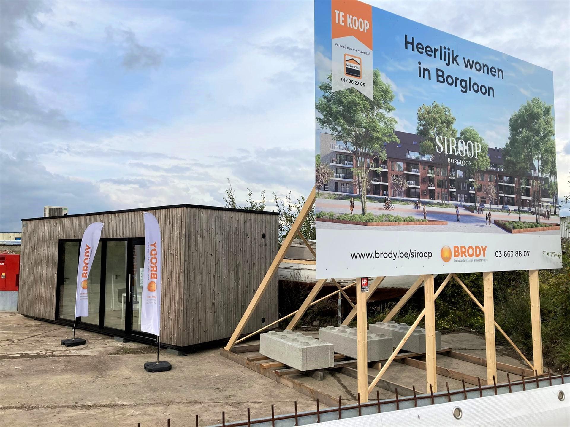 Nieuwbouwproject Borgloon te koop Siroop