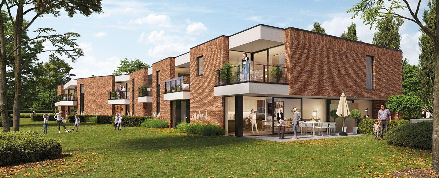 Nieuwbouw appartementen Hassel Kuringen Jack nieuwbouwproject