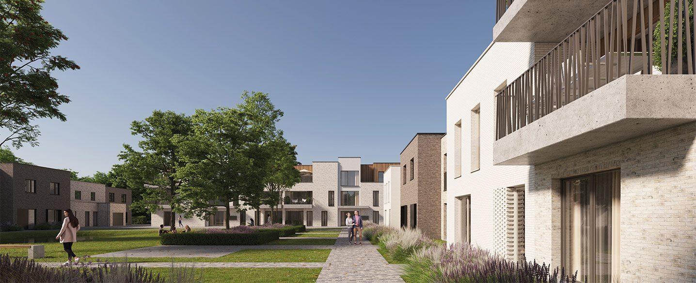 Nieuwbouw huizen Hasselt Herk Milda nieuwbouwproject