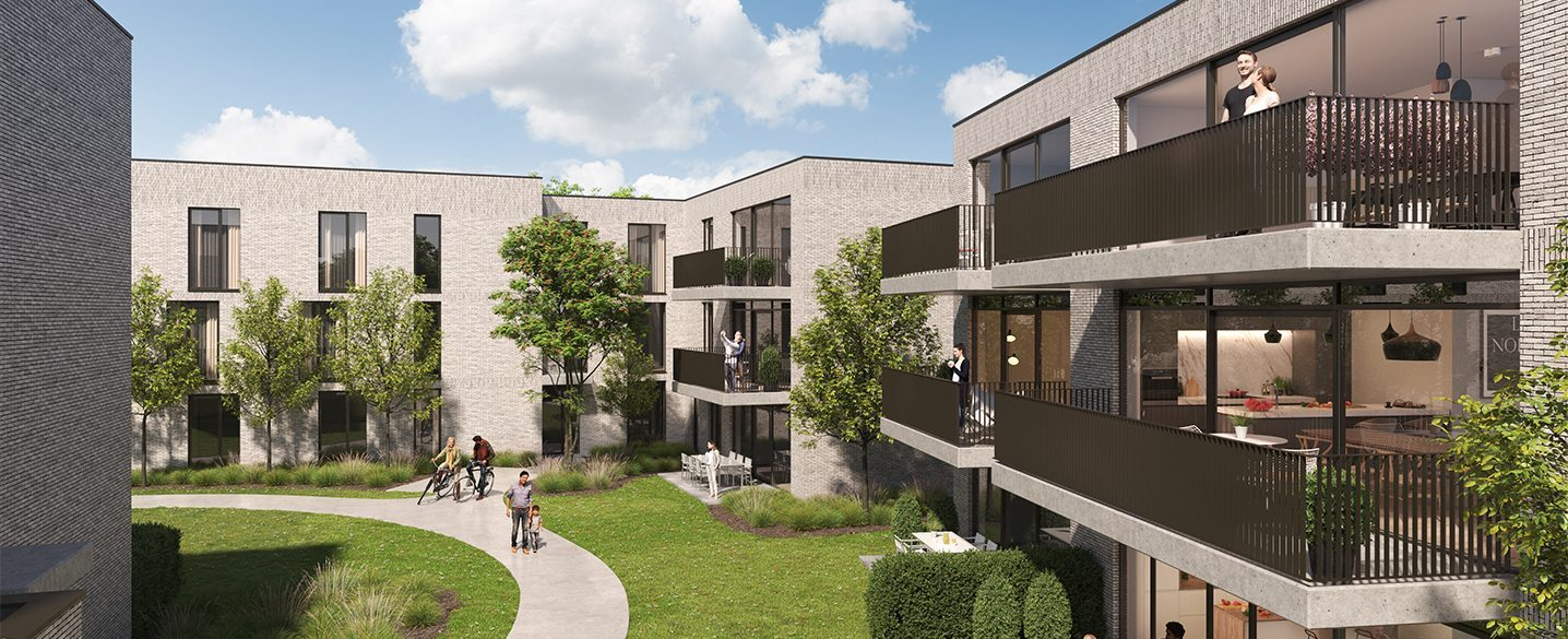 Nieuwbouw appartementen Beveren Oscar te koop